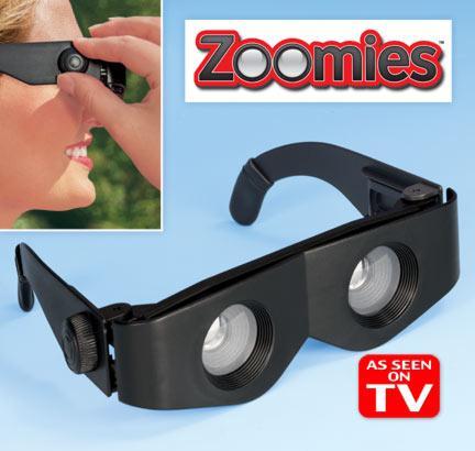 عینک دوربینی زومیز ، Zoomies