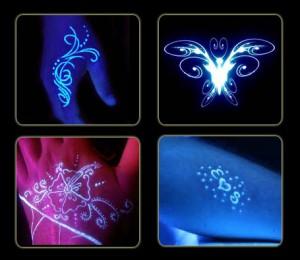 خرید تاتو شب نما Glow Tattoo