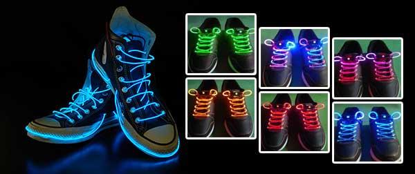 بند کفش جادویی و نورانی نئون , بند کفش نئون