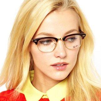 خرید عینک ری بن کلاب مستر شفاف