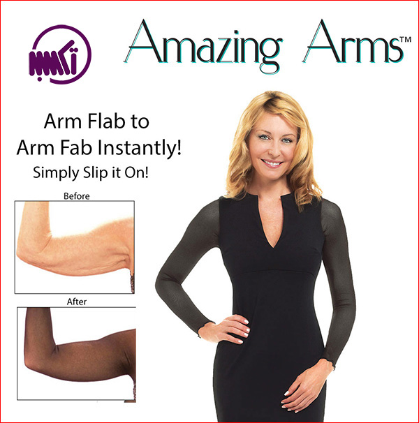 گن لاغری بازوی زنانه آمازینگ آرم