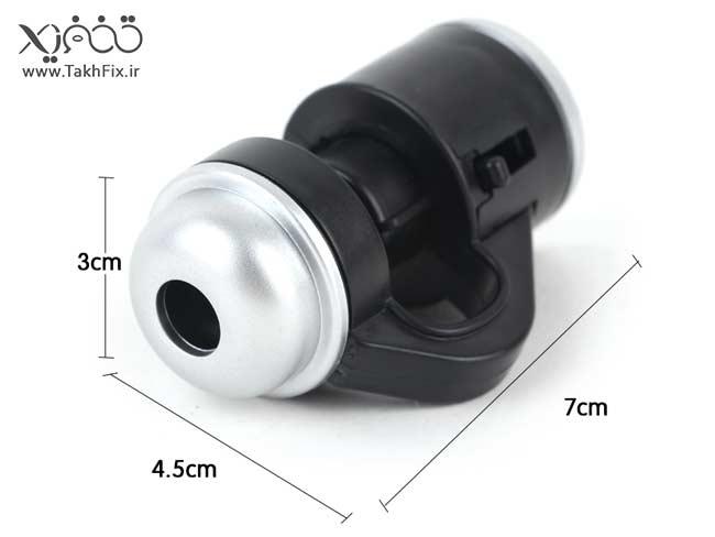 لنز میکروسکوپ موبایل