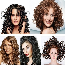 Arabic-style-curls-of-hair-product-Brown-BrAun