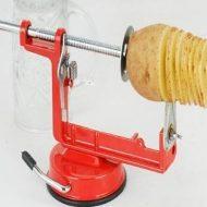 دستگاه برش فنری سیب زمینی فلزی