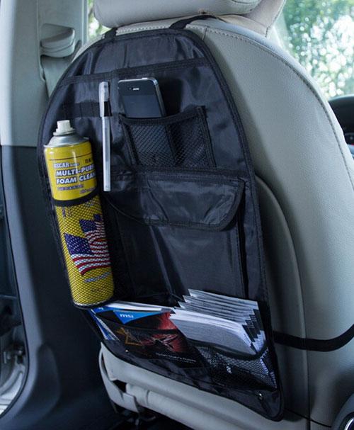 CAR SEAT ORGANIZER 3 کیف نگهدارنده لوازم پشت صندلی خودرو