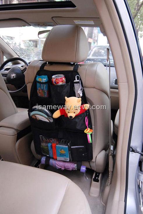 CAR SEAT ORGANIZER 4 کیف نگهدارنده لوازم پشت صندلی خودرو