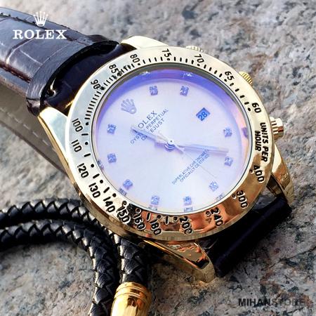 ساعت بند چرم Rolex مدل Winner (5)