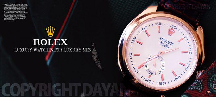 ساعت مچی مردانه طرح2016 Rolex