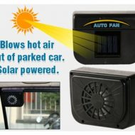 خرید پنکه خورشیدی ماشین اتوکول اصل AUTO COOL