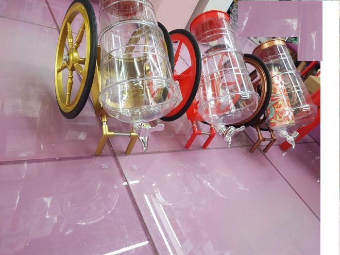 خرید اینترنتی بشکه فانتزی مایعات طرح درشکه (۳)