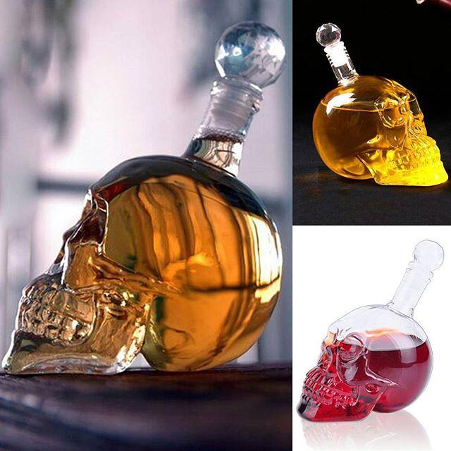 خرید بطری مایعات طرح جمجمه (۱)