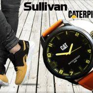خرید پکیج کفش SALLIVAN و ساعت CAT