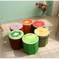 خرید صندلی جمع شونده سه بعدی طرح میوه