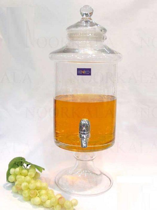 کلمن شیشه ای ۸٫۵ لیتری , خرید اینترنتی کلمن شیشه ای ۸٫۵ لیتری
