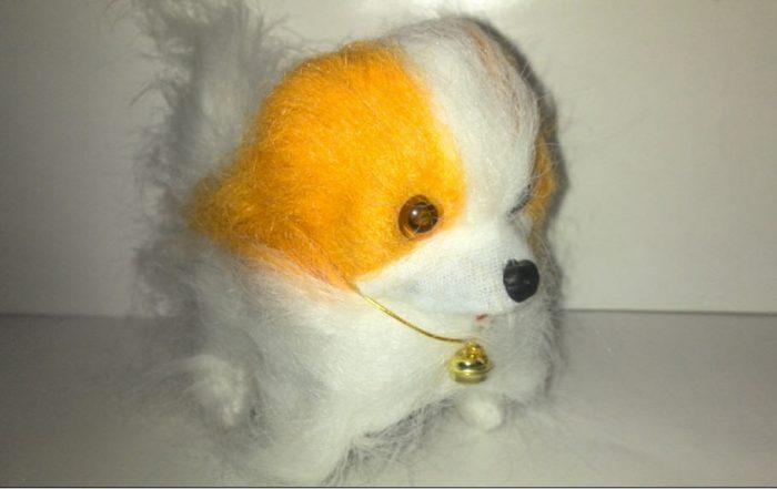 عروسک سگ کوچک باطری خور (۴)