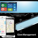 خرید آینه دوربین دار و دنده عقب + ضبط اتوماتیک تصاویر HD نسل جدید آینه خودرو