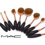 خرید ست براش آرایش حرفه ای ۱۰ تکه ی مک Mac
