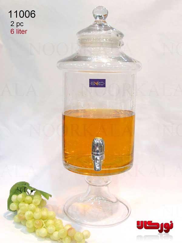 کلمن شیشه ای ۶ لیتری (۱)
