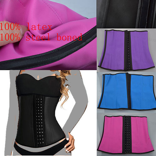 گن ساعت شنی اصل latex waist cincher