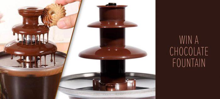 دستگاه طبقانی آب کننده شکلات
