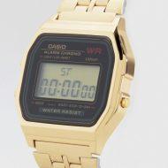 ساعت دیجیتال کاسیو کامپیوتری طلایی مدل casio A159
