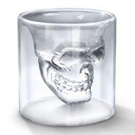 خرید لیوان شیشه ای دوجداره اسکلت ۸ عددی