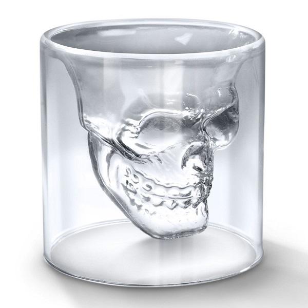 خرید لیوان شیشه ای دوجداره اسکلت (۱)