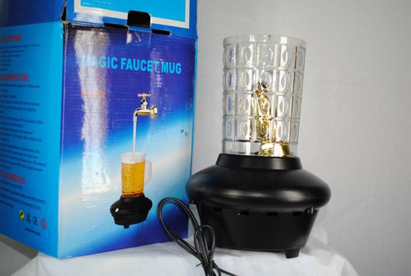 شیر آب جادویی دکوری بزرگ magic faucft mug ، شیر آب معلق چراغدار