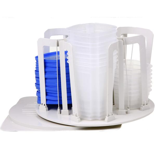 ست استند و ظروف پلاستیکی,