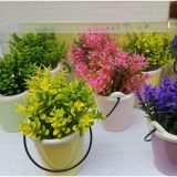 خرید گلدان سطلی ۴ تایی