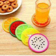 خرید زیر لیوان میوه ای ۶ عددی