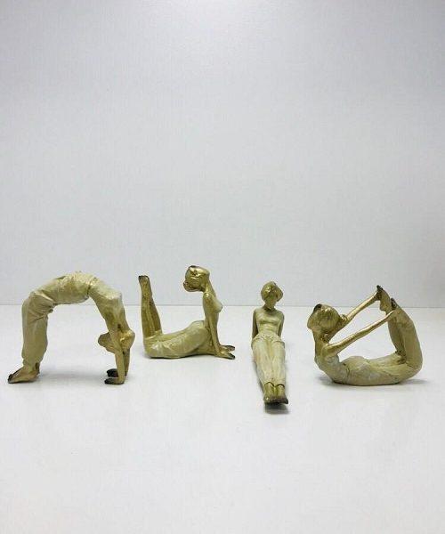 مجسمه های تزیینی یوگا