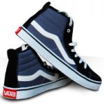 کفش ساقدار دخترانه Vans طرح OldSkool