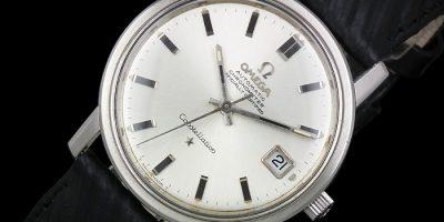 خرید ساعت بند چرمی طرح Omega