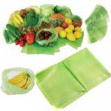 کیسه های سبز افزایش مدت نگهداری مواد غذایی ۲بسته ای