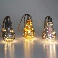 خرید حباب های ال ای دی دکوراتیو طرح لامپ