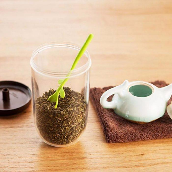 خرید ظرف نگهداری چای و قهوه طرح جوانه
