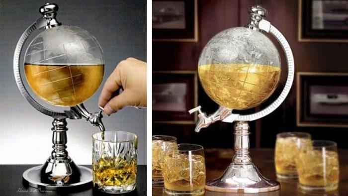 کلمن نوشیدنی طرح کره زمین