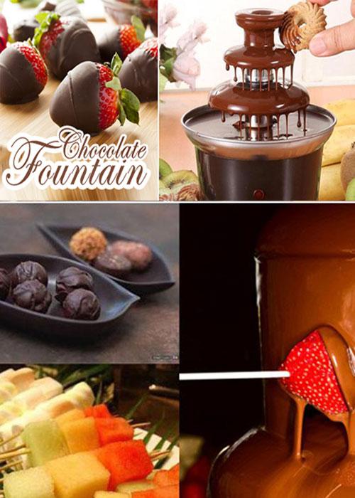 دستگاه آب کننده شکلات 20
