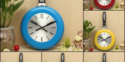 خرید ساعت دیواری طرح تابه