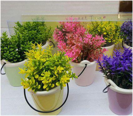 گلدان سطلی ۴ تایی (۳)